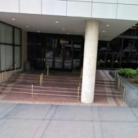 Wilshire Grand Hotel entrance
